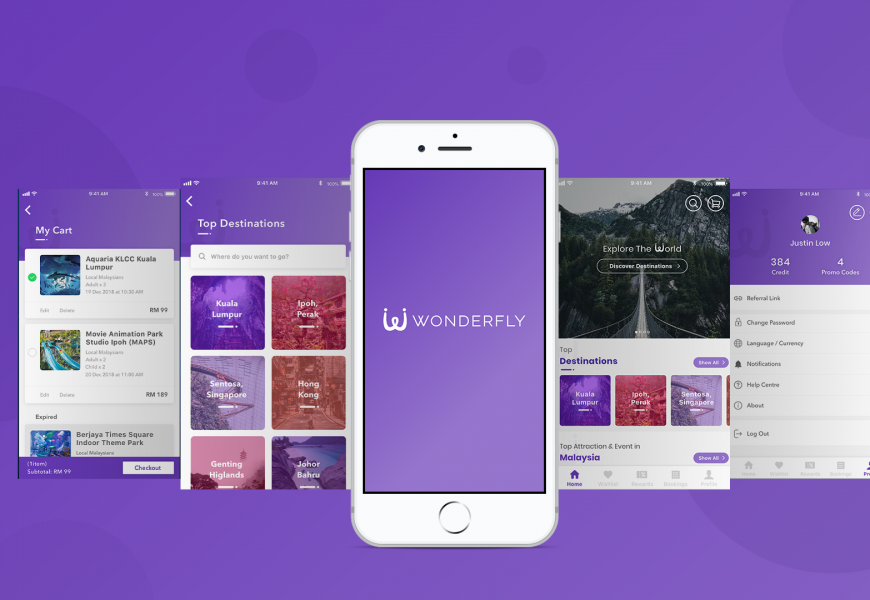 Wonderfly Travel Marketplace App